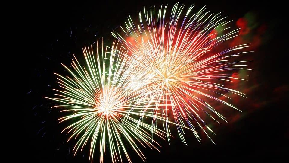 tűzijátékok születésnapokra